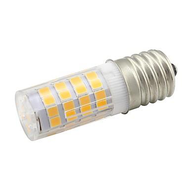 4W 360 lm LED Mais-Birnen T 52 Leds SMD 2835 Warmes Weiß Wechselstrom 110V