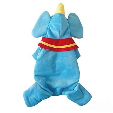 Hund Kostüme Hundekleidung Cosplay Cartoon Design Blau Kostüm Für Haustiere