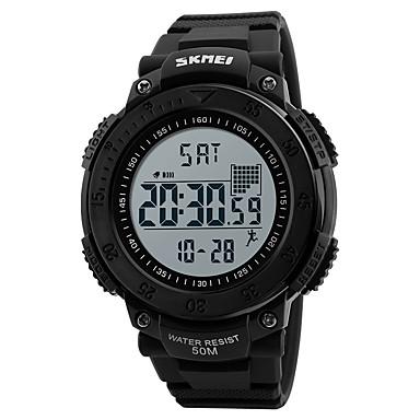 Heren Sporthorloge Militair horloge Polshorloge Digitaal horloge Japans Digitaal Kalender Stappenteller Stopwatch s Nachts oplichtend