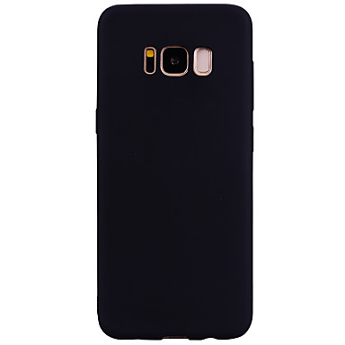 Maska Pentru Samsung Galaxy S8 Plus S8 Mătuit Capac Spate Culoare solidă Moale TPU pentru S8 Plus S8 S7 edge S7 S6 edge S6