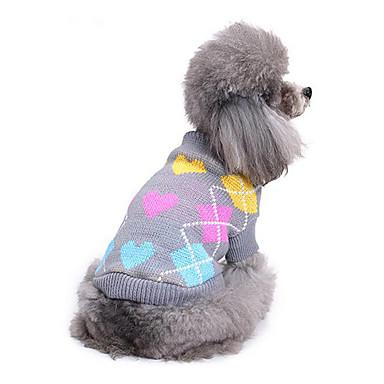 Katze Hund Pullover Hundekleidung Lässig/Alltäglich Herzen Kostüm Für Haustiere