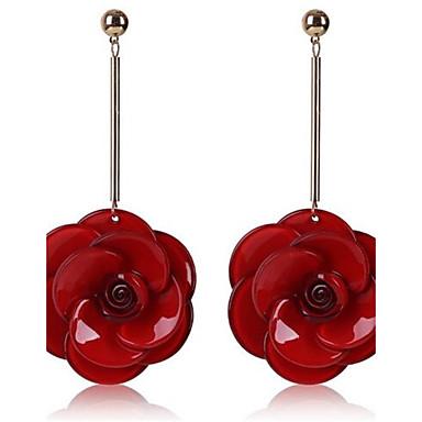 للمرأة حب موضة المتضخم سبيكة Flower Shape مجوهرات من أجل يوميا فضفاض مواعدة