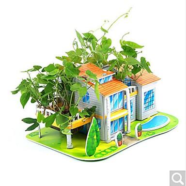 DHZ-kit 3D-puzzels Legpuzzel Speeltjes Beroemd gebouw Huis Architectuur 3D DHZ Kinderen Stuks