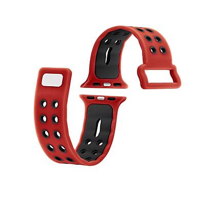 ل إيواتش التفاح ووتش حزام سلسلة 2 1 سيليكون الرياضة لياقة الفرقة استبدال 38 ملليمتر 42 ملليمتر