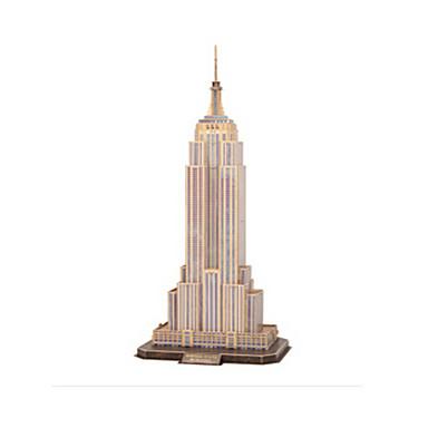 3D-puzzels Modelbouwsets Beroemd gebouw Empire State Building DHZ EPS+EPU Unisex Geschenk
