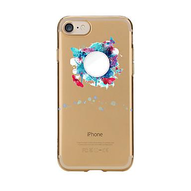 Maska Pentru Apple iPhone 7 Plus iPhone 7 Transparent Model Capac Spate Alte Moale TPU pentru iPhone 7 Plus iPhone 7 iPhone 6s Plus