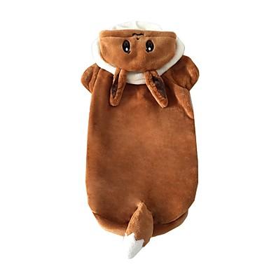 Câine Costume Îmbrăcăminte Câini Cosplay Desene Animate Cafea Costume Pentru animale de companie