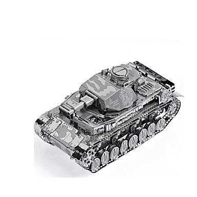 تركيب معدني ألعاب دبابة 3D اصنع بنفسك سبيكة غير محدد قطع