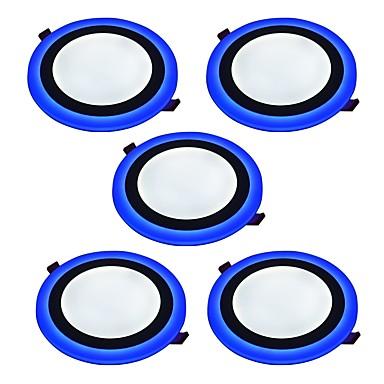 Instrumententafel-Leuchten Natürliches Weiß Blau LED 5 Stück