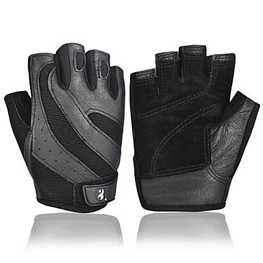 BOODUN® أنشطة / قفازات الرياضة قفازات الدراجة يمكن ارتداؤها متنفس سترة واقيه واقي Fingerless كنفا Fitness للرجال