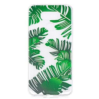 Caz pentru lg g6 caz acoperă banana frunze model de penetrare de mare tpu material caz de zgârieturi telefon