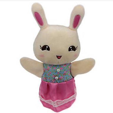 Păpuși de Degete Păpuși Păpușă Mână Γεμιστά και λούτρινα ζωάκια Jucării Educaționale Rabbit Urs Tigru Drăguț Animale Încântător Ursuleț