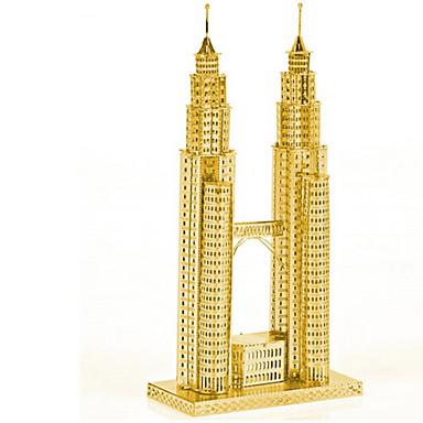 3D-puzzels Legpuzzel Beroemd gebouw Architectuur 3D Roestvast staal Metaal 6 jaar en ouder