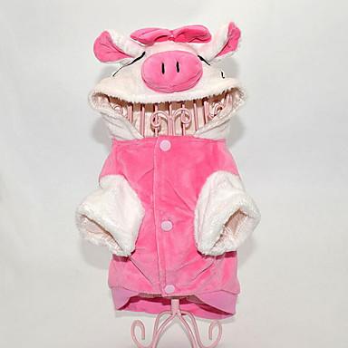 Hund Kostüme Overall Hundekleidung Tier Baumwolle Kostüm Für Haustiere Herrn Damen Lässig/Alltäglich Cosplay