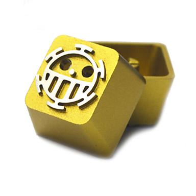 شفاف معدن سبائك الألومنيوم كيكاب تعيين لوحة المفاتيح الميكانيكية الأعلى المطبوعة