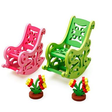 3D-puzzels Legpuzzel Anderen Hout Natuurlijk Hout Kinderen Unisex Geschenk