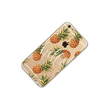 06106199 Morbido 8 iPhone retro Per Plus Custodia Plus iPhone 8 X Per iPhone famose Fantasia Apple Frasi 8 Frutta per iPhone Mattonella Transparente TPU disegno X iPhone qBaABw