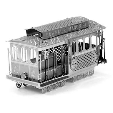 3D-puzzels Legpuzzel Metalen puzzels Speeltjes Bus 3D DHZ Roestvrijstaal Metaal Niet gespecificeerd Stuks