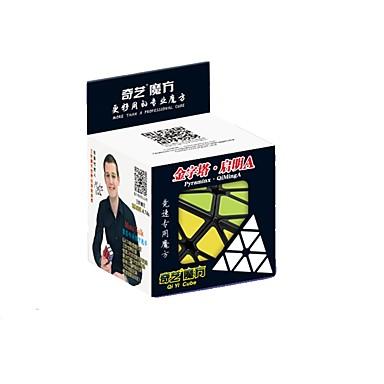 cubul lui Rubik QI YI Warrior pyraminx Cub Viteză lină Cuburi Magice puzzle cub Τρίγωνο Cadou
