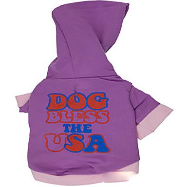 Hond Hoodies Hondenkleding Casual/Dagelijks Letter & Nummer Kostuum Voor huisdieren