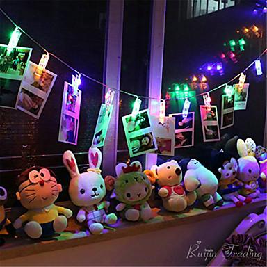 HKV 10 LEDs Warm wit RGB Meerkleurig <5V