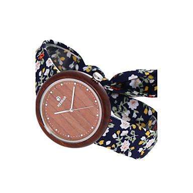 Pentru femei Ceas Lemn Ceas La Modă Japoneză Quartz de lemn Material Bandă Charm Casual Elegant Bleumarin
