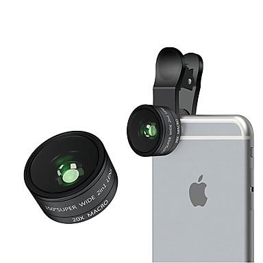 aszune m15 lentilă telefon mobil 150 obiectiv cu unghi larg 20x macro lentilă din aliaj de sticlă de sticlă 26mm pentru iPhone mobil de