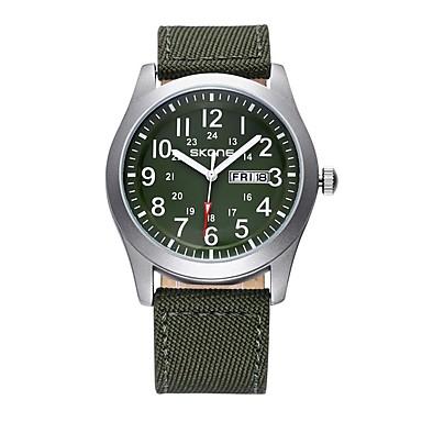Χαμηλού Κόστους Ανδρικά ρολόγια-Ανδρικά Γυναικεία Αθλητικό Ρολόι Στρατιωτικό Ρολόι Έξυπνο ρολόι Χαλαζίας Μαύρο / Μπλε / Πράσινο Ημερολόγιο Δημιουργικό Απίθανο Αναλογικό Φυλαχτό Πολυτέλεια Βραχιόλι Μοντέρνα Κομψό - / Ενας χρόνος