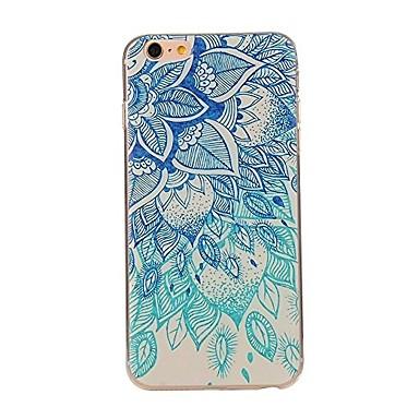 case pentru iphone 7 6 mandala tpu soft ultra-subțire spate cover cover case iphone 7 plus 6 6s plus se 5s 5 5c 4s 4