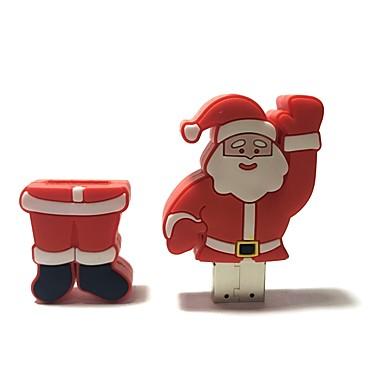 1gb crăciun usb flash drive desene animate creative santa claus Crăciun cadou usb 2.0
