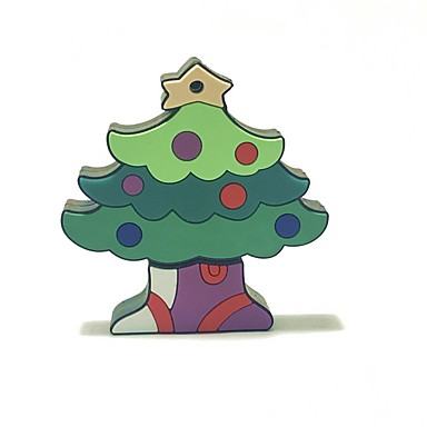 64gb Crăciun usb flash drive desen animat creativ Crăciun copac Crăciun cadou usb 2.0
