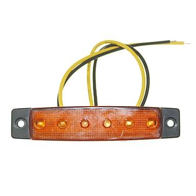 Недорогие Фары для мотоциклов-SENCART Грузовик / Мотоцикл / Автомобиль Лампы 1.5W SMD LED 120lm 6 Внешние осветительные приборы For Универсальный Все года