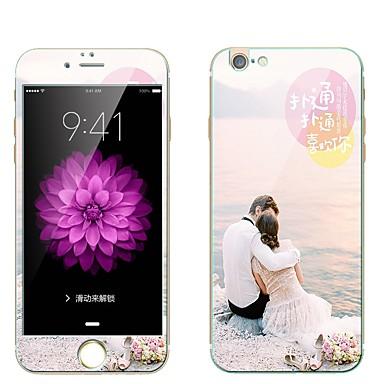 Ecran protector pentru Apple iPhone 6s iphone 6 Sticlă securizată Ecran Protecție Întreg Ecran Protecție Față & Spate La explozie Model
