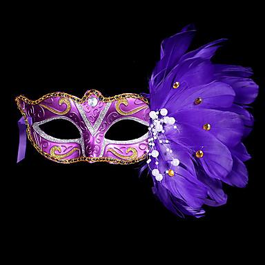 masca masca masca masca mardi gras masca costum Halloween masca de pene pentru Halloween