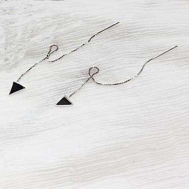 Pentru femei Cercei Stud Bijuterii La modă stil minimalist Plastic Line Shape Triangle Shape Bijuterii Pentru Zilnic Ieșire