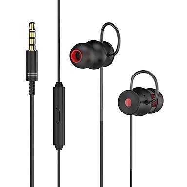 DA131 În ureche Cablu Căști Dinamic Aluminum Alloy Telefon mobil Cască Mini Cu controlul volumului Confortul confortabil ergonomic Setul