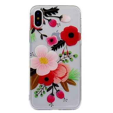 Fantasia 8 06209480 8 Apple decorativo iPhone retro X iPhone iPhone X iPhone Per Per per Morbido X Custodia iPhone IMD disegno Fiore TPU Plus 0Wzg7q