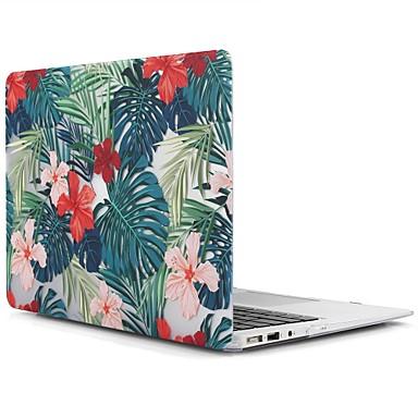 MacBook Carcase pentru MacBook Air 13-inch MacBook Air 11-inch MacBook Pro Retina kijelzős, 13 hüvelyk Floare Copac TPU Material