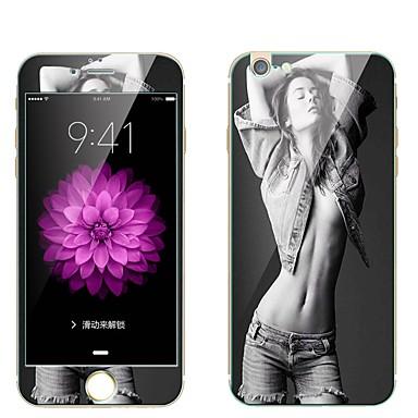 Ecran protector pentru Apple iPhone 6s Plus iPhone 6 Plus Sticlă securizată Ecran Protecție Față & Spate Ecran Protecție Întreg 9H