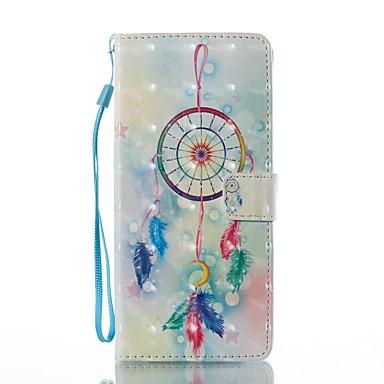 Maska Pentru Samsung Galaxy Note 8 Titluar Card Portofel Cu Stand Întoarce Magnetic Model Carcasă Telefon Prinzător de vise Greu PU piele