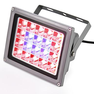 540-740lm Kasvava valaisin 20 LED-helmet Teho-LED Sininen Punainen 85-265V