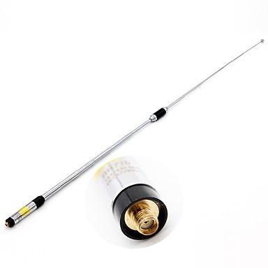 rh770 sma-female banda dubla 144 / 430mhz antenă de înaltă tensiune telescopic cu mâna mare pentru kenwood baofeng 365 tyt walkie talkie