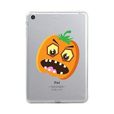 Pentru iPad (2017) Carcase Huse Transparent Model Carcasă Spate Maska Transparent Halloween Moale TPU pentru Apple iPad (2017) iPad Pro