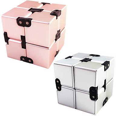 Cuburi de infinit Fidget Jucarii Cuburi Magice Jucării Educaționale Alină Stresul Noutate Metalic Plastic Bucăți Băieți Pentru copii