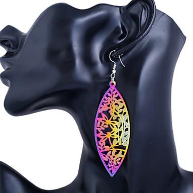 Pentru femei Cercei Picătură Bijuterii La modă Personalizat Teak Picătură Bijuterii Pentru Ieșire Club