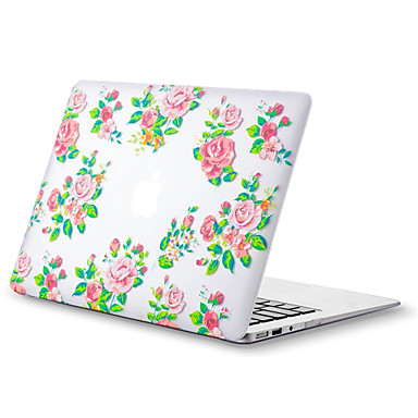 MacBook Carcase pentru Floare TPU MacBook Air 13-inch MacBook Air 11-inch MacBook Pro Retina kijelzős, 13 hüvelyk