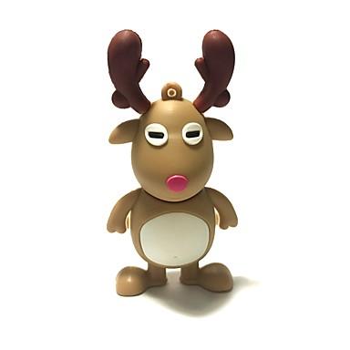 8gb Crăciun usb flash drive desen animat Crăciun cerb Crăciun cadou usb 2.0
