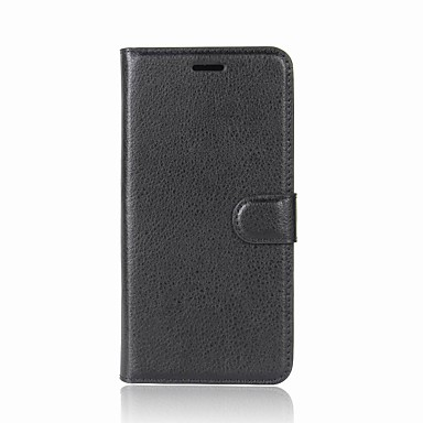 غطاء من أجل Sony Xperia XZ2 / Xperia L2 محفظة / حامل البطاقات / قلب غطاء كامل للجسم لون سادة قاسي جلد PU إلى Sony Xperia Z5 Premium / Sony Xperia Z5 / Sony Xperia Z5 Compact