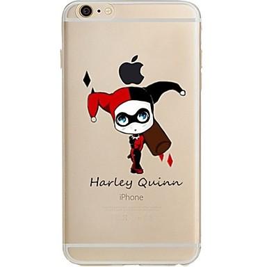 Maska Pentru Apple iPhone 7 Plus iPhone 7 Ultra subțire Transparent Model Capac Spate Desene Animate Moale TPU pentru iPhone 7 Plus