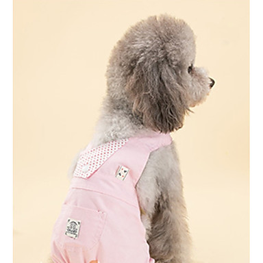 Câine Hamuri Îmbrăcăminte Câini Casul/Zilnic Solid Verde Roz